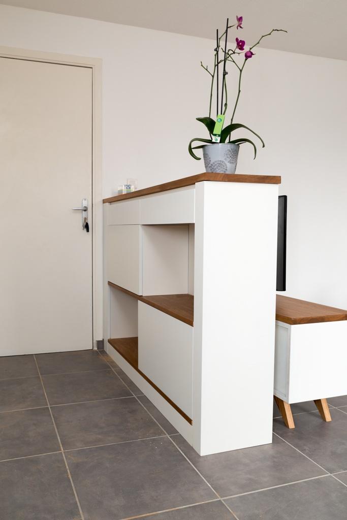 meuble à chaussures scandinave